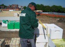 Работы выполняются профессиональными строителями